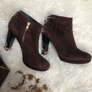 Suede Tory Burch Ankle boots